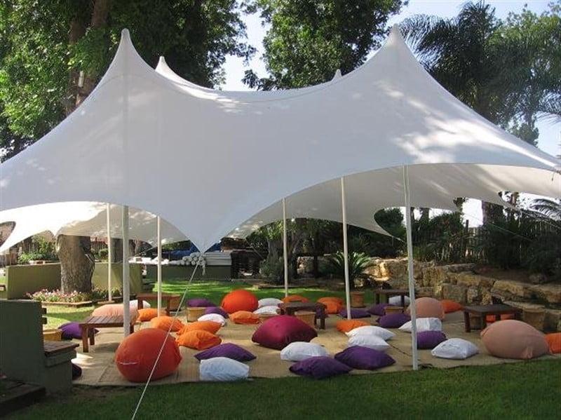 הצללות ואוהלים לאירועים